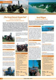 """Insel Rügen """"The Great Dorset Steam Fair"""" - Gerken Reisen"""