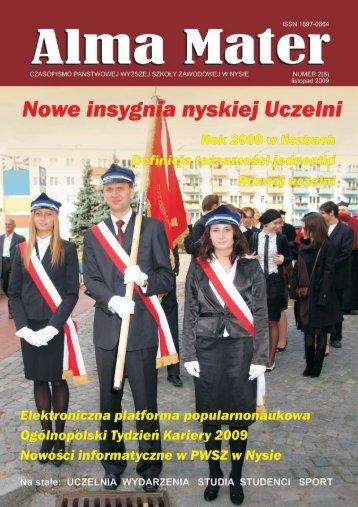 listopad 2009 - Państwowa Wyższa Szkoła Zawodowa w Nysie