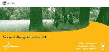 Veranstaltungskalender 2011 - Biosphärenreservat Oberlausitzer ...