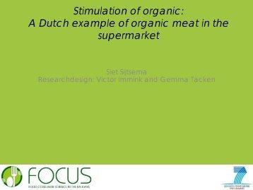 A Dutch Example Of Organic - Focus-Balkans