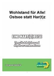 Har_t_zreise5.Auflageohne Bilder - Bündnis 90/Die Grünen Lübeck