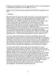 Addendum bij hoofdstuk 4 van het beroepschrift
