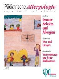 Härten nicht vermeidbar - Gesellschaft für Pädiatrische Allergologie ...