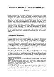 Mujeres por la paz frente a la guerra y el militarismo.pdf - CEIPAZ
