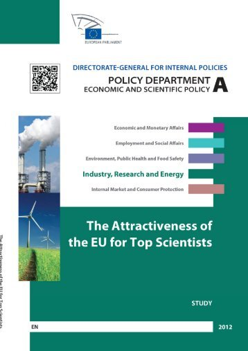 The attractiveness of the EU for Top Scientists ... - Madri+d