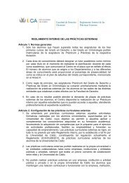REGLAMENTO INTERNO PRÁCTICAS - Universidad de Cádiz