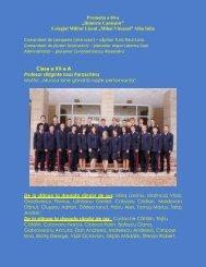vezi promoţia - Colegiul Militar Liceal