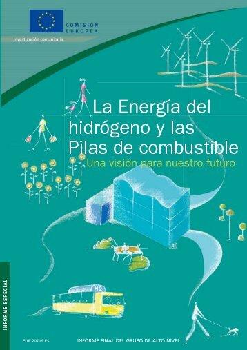 La Energía del hidrógeno y las Pilas de combustible - Una visión ...