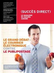 Postes Canada - Succes Direct : LE MAGAZINE DU ... - Canada Post