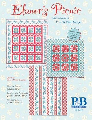 Download free pattern here - P&B Textiles