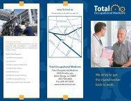 Total Occupational Medicine General Brochure