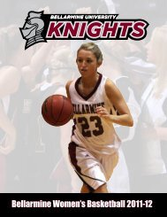 Bellarmine Women's Basketball 2011-12 - Bellarmine Athletics ...