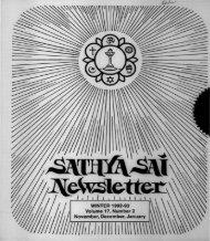 Winter 1992-1993 - USA Sai Organization