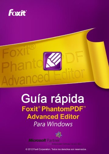 PhantomPDF™ Advanced Editor - Foxit