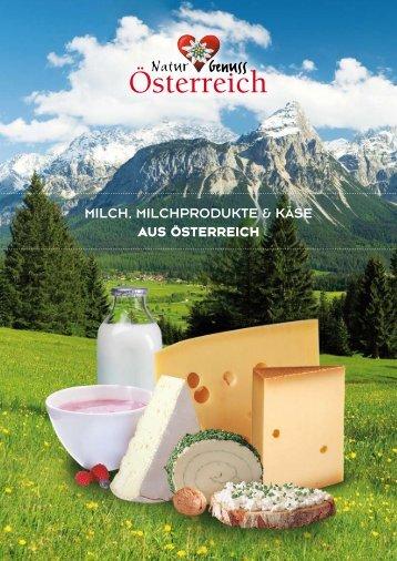 Milch, Milchprodukte & käse aus Österreich