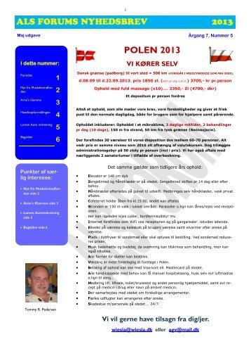 MAJ 2013 - ALS Gruppen Vestjylland