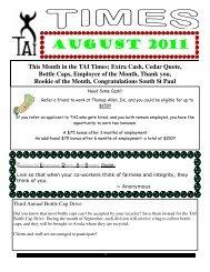 august 2011 - Thomas Allen Inc.
