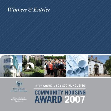 AWARD 2007 - The Irish Council for Social Housing
