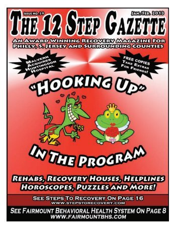 January & February 2013 - 12 Step Gazette