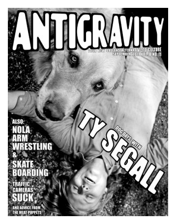 September 2011 (PDF) - Antigravity Magazine
