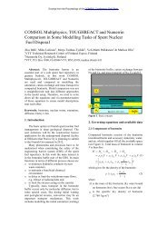 COMSOL Multiphysics, TOUGHREACT and ... - COMSOL.com