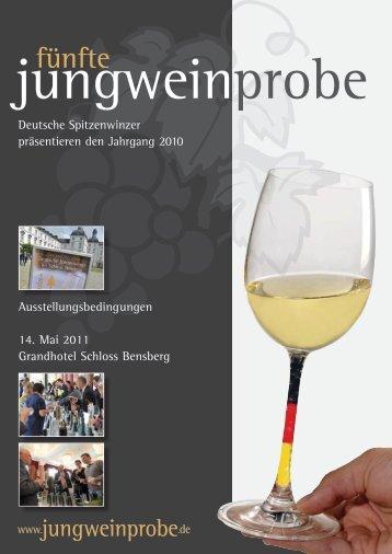 fünfte - Jungweinprobe