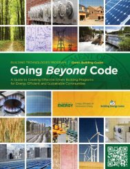Going Beyond Code - Building Energy Codes