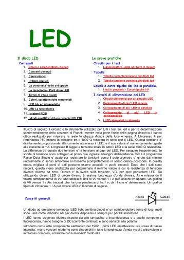 Il diodo LED Le prove pratiche - gonellaluce.it