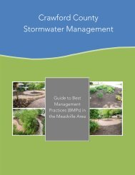 Crawford County Stormwater Management