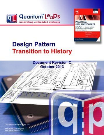 Design Pattern Transition To History – State ... - Quantum Leaps