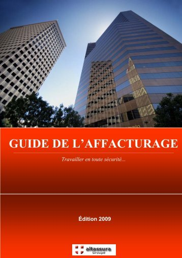 GUIDE DE L'AFFACTURAGE