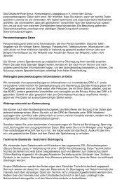 Datenschutzerklärung - DRK-Kreisverband Ludwigsburg e.V.