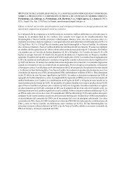 efecto de la fertilidad inicial y la fertilización nitrogenada y fosforada ...