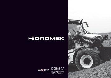 Catálogo retrocargadora Hidromek HMK102B Serie ... - Logismarket