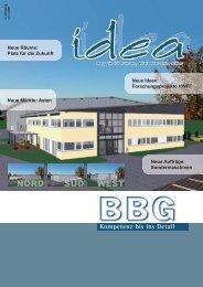 BBG Idea - Juni 2008 - BBG GmbH & Co. KG
