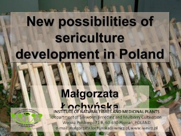 Country report Poland - Bacsa-silk.org