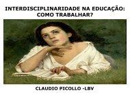O que é Interdisciplinaridade? - LBV