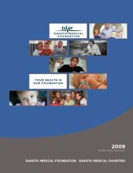 2009 - Dakota Medical Foundation