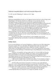 m00-2 wildenberg med aansprak.pdf - Nederlandse Vereniging voor ...