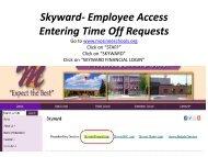 Skyward - Mosinee School District