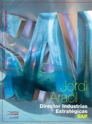 Jordi Aracil - Revista DINTEL Alta Dirección