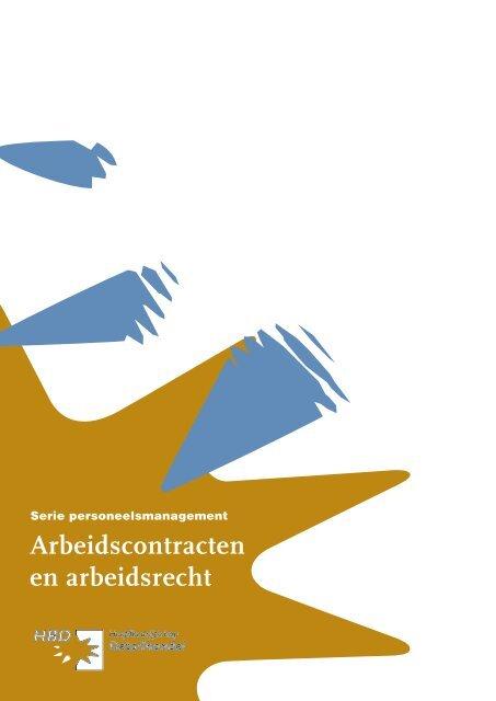 Arbeidscontracten en arbeidsrecht - Hoofdbedrijfschap Detailhandel