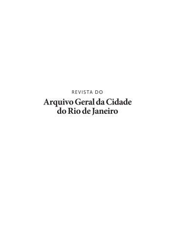 Arquivo Geral da Cidade do Rio de Janeiro - rio.rj.gov.br