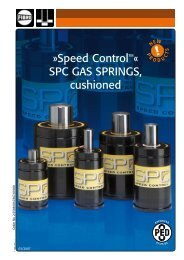 Speed ControlTMÂ« SPC GAS SPRINGS, cushioned
