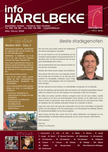INFO HARELBEKE FEBRUARI 2008.indd - Stad Harelbeke