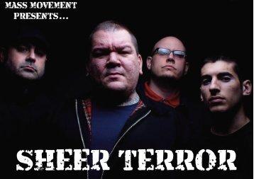 Mass Movement Presents - Sheer Terror