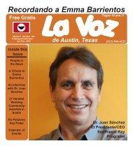 La Voz de Austin January 2010 - La Voz Newspapers