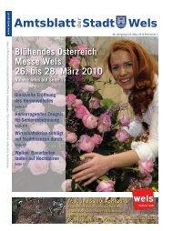 Amtsblatt der Stadt Wels_ Maerz_2010