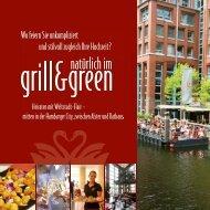 Raumpläne - Grill and Green oder