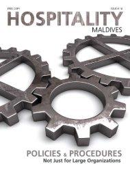 Impressum - Hospitality Maldives